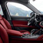 Alfa Romeo Red Interior
